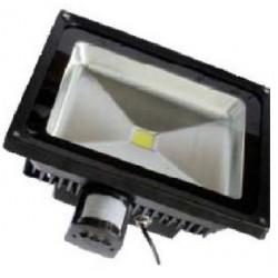 Projecteur Led avec détecteur 50W