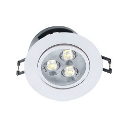 Downlight Rond 5W - 75mm / 86mm IP20
