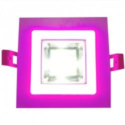 Panel Encastrable 2 Couleurs Slim 6 W Purple